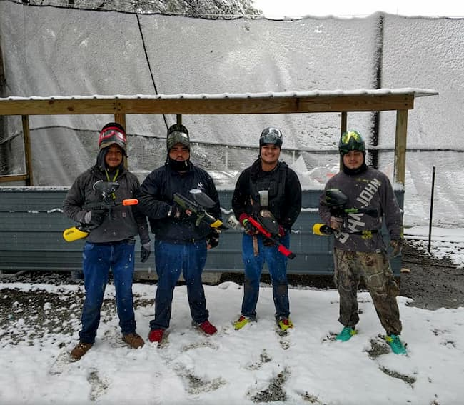 Paintball year round at CJ's Paintbal Park