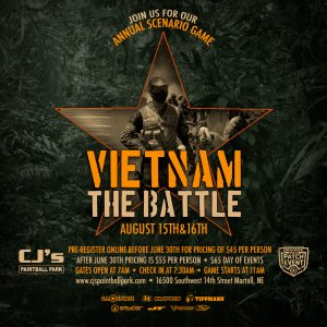Vietnam Paintball Scenario Game