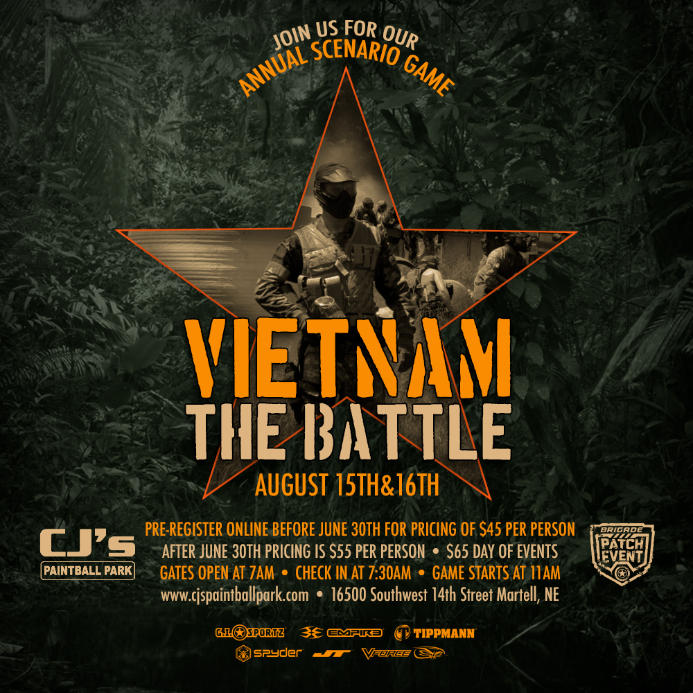 Vietnam Paintball Scenario Game